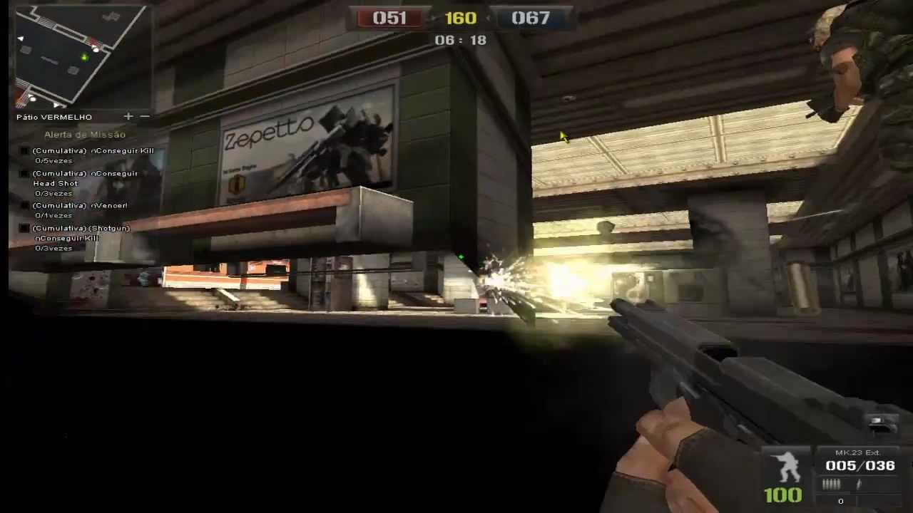 hacker para point blank atravessar parede