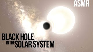 A Black Hole in the Solar System | ASMR (Universe Sandbox)