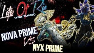 WARFRAME - Nova Prime VS Nyx Prime (Choose your Side)