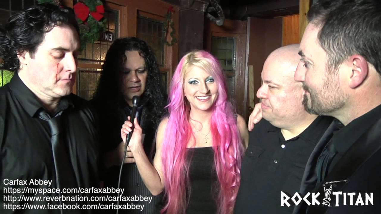 The Band Carfax Abbey Interviews With Rock Titan Vj Heather Mae