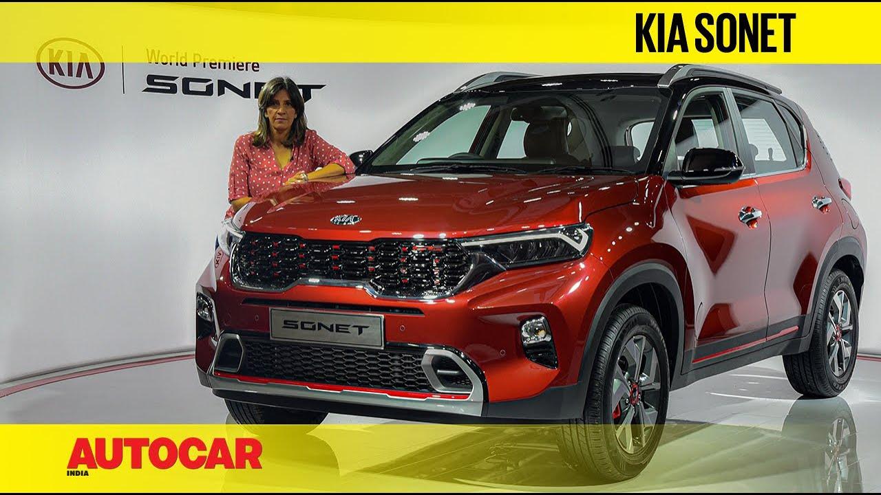 2020 Kia Sonet Kia S Next Big Thing First Look Autocar India Youtube