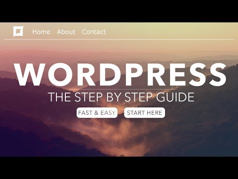 How To Make a WordPress Website - In 24 Easy Steps