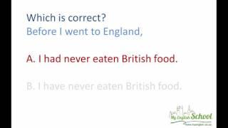 Английские времена. Практическое упражнение (В2) English Tenses. Practice.