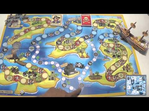 El tesoro pirata juego de mesa infantil youtube for Cazafantasmas juego de mesa