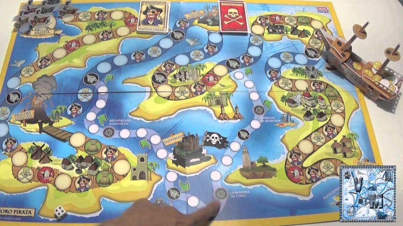 El tesoro pirata juego de mesa infantil youtube for Divertilandia juego de mesa