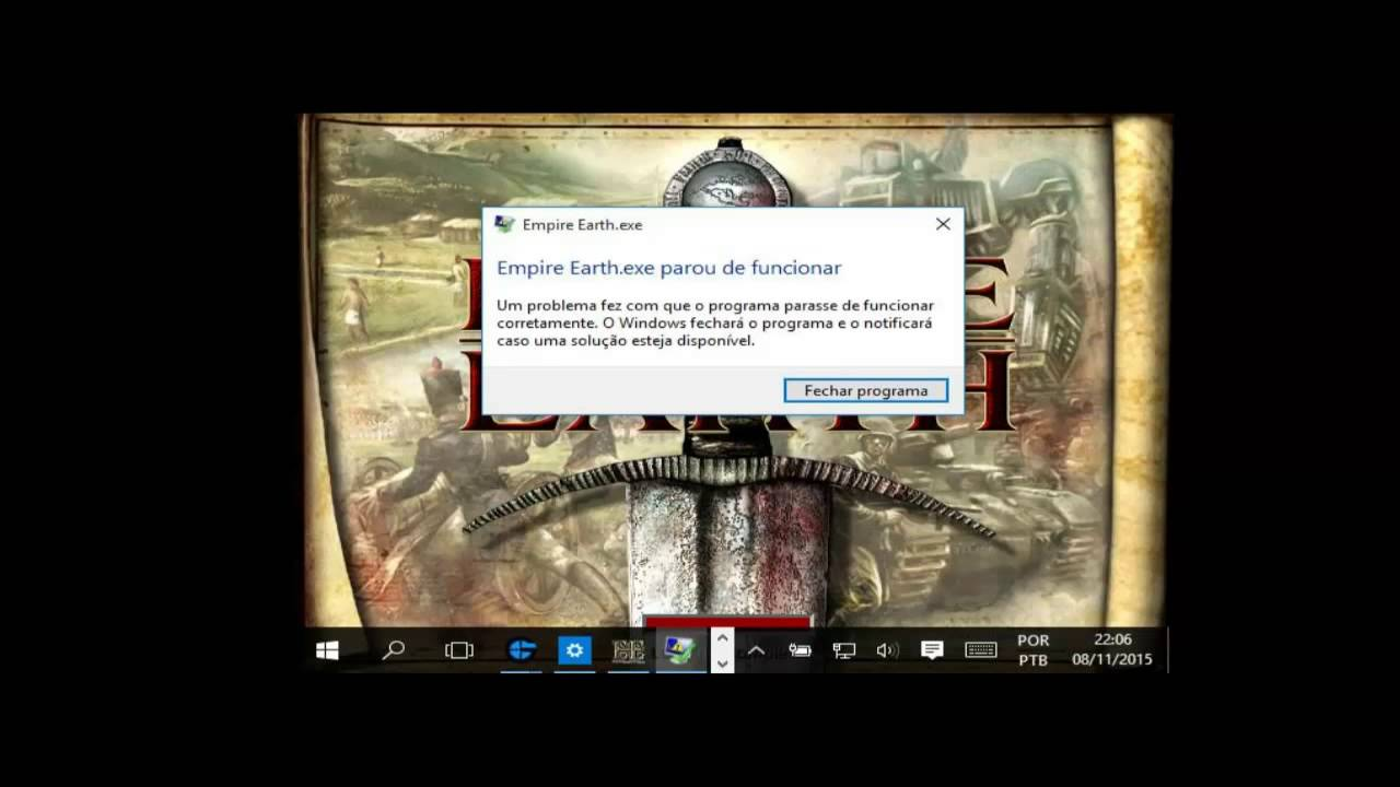 empire earth windows 10