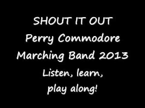 Shout It Out! - marching band arrangement