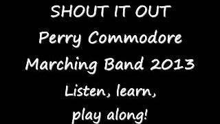 Shout It Out! - marching band arrangement