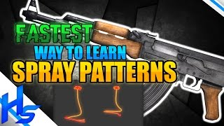 """FASTEST Way To Learn Spray Patterns"" - How to Spray Transfer In CS:GO Tips"