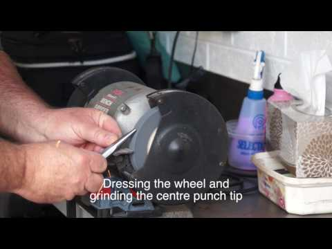 Metal Lathe DIY Project - Make your own centre punch