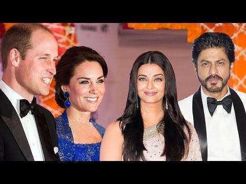 Royal Dinner Party for Kate Middleton & Prince William | Shahrukh Khan Aishwarya Rai | FULL EVENT