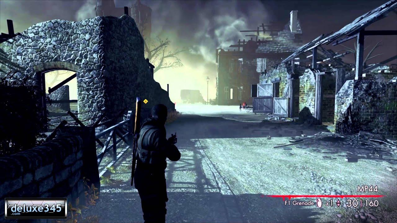 Прохождение игры снайпер элит 2 зомби