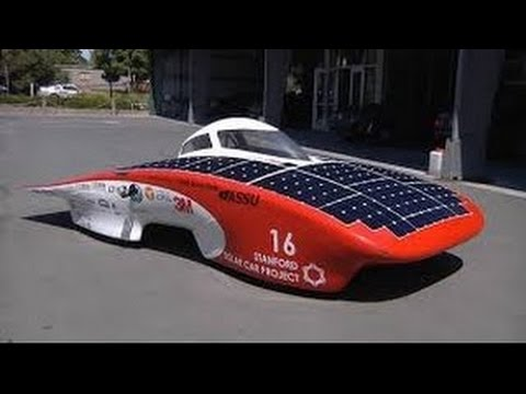 Solar car documentary about the Stanford Solar Car Project, HD Documentary about solar ele