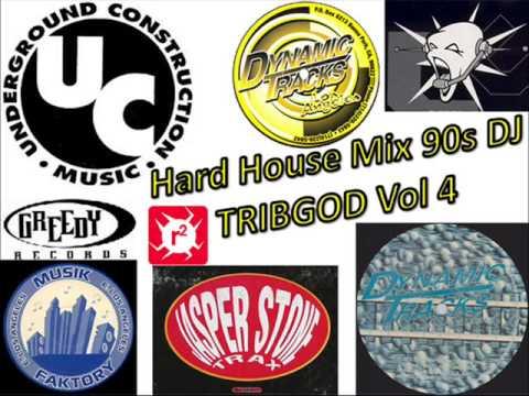 Hard house mix 90s dj tribgod vol 4 youtube for Classic 90s house vol 2