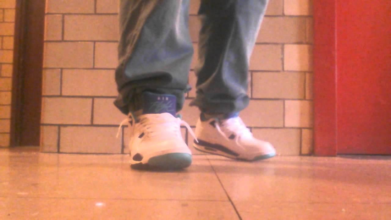1d991d24aef0 Jordan pack grape Flight 89s on feet. Sneaker Fan