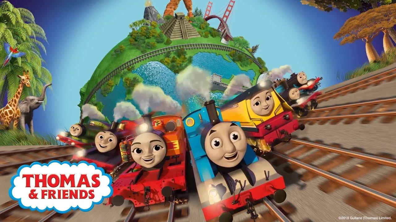 Big World! Big Adventures! Theme Song | Official Lyrics Video | Thomas &  Friends