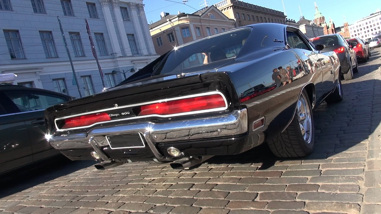 MUSCLE CARS! CLICS! Helsinki Cruising Night 7/2015 - YouTube