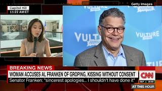 Woman alleges Franken groped her without consent