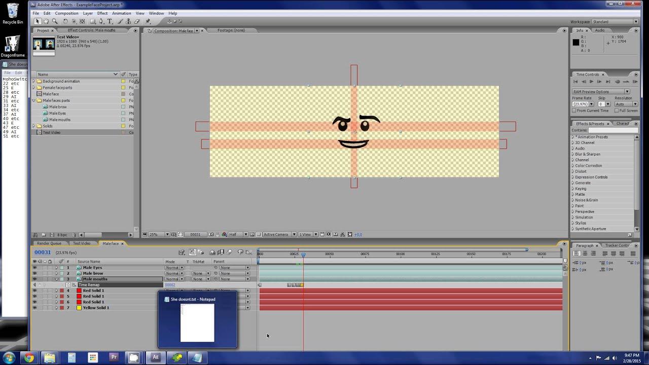Lego Face Animation Tutorial