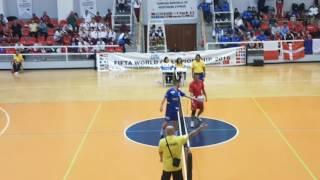 2016 FOOTBALL TENNIS WORLD CUP CHAMPIONSHIP NORTH CYPRUS / FINAL MATCH / ROMANIA - FRANCE / 2-0