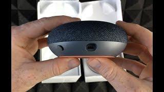 Google Home Mini - Charcoal Unboxing