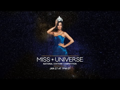 65th Miss Universe National Costume Show