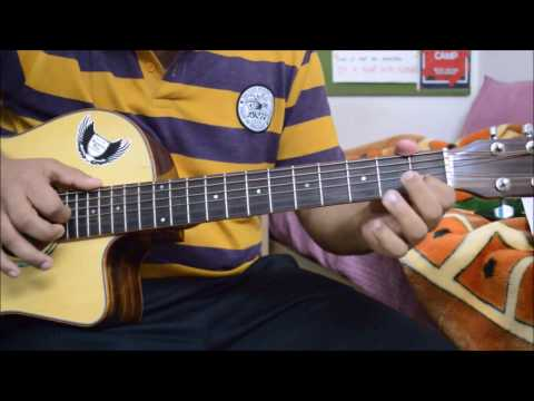 How to play Gratitude by Amin Toofani on guitar