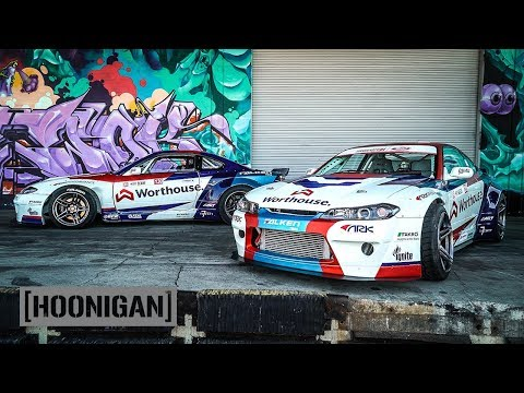 2000HP Tandem Thrash – James Deane and Piotr Wiecek's Nissan S15s  //DT266