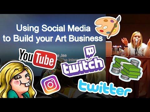 Using SOCIAL MEDIA to Build Your ART BUSINESS - Panel at San Japan