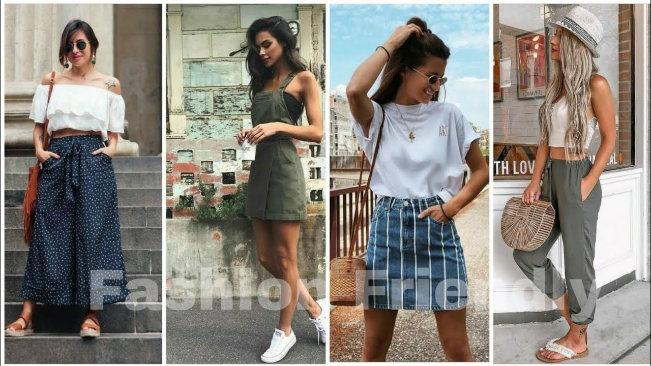 Девушки Стиле Casual |  Stylish and Casual Summer Outfits for Girls