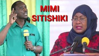 KATIBU MKUU CCM AMUIBUKIA MAMA SAMIAH SULUHU GHAFLA!