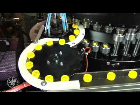 SACMI Plastic Closure manufacturing plant. Sacmi CCM - Continuous Compression Moulding