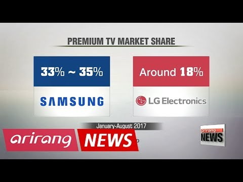 Samsung, LG engage in aggressive marketing over TV market leadership