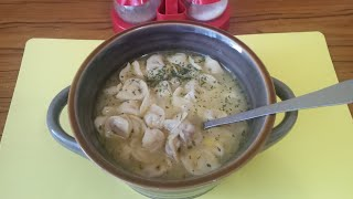 Дюшпере!!! (азербайджанское национальное блюдо - суп, крошечные пельмени с ароматным бульоном!!!)