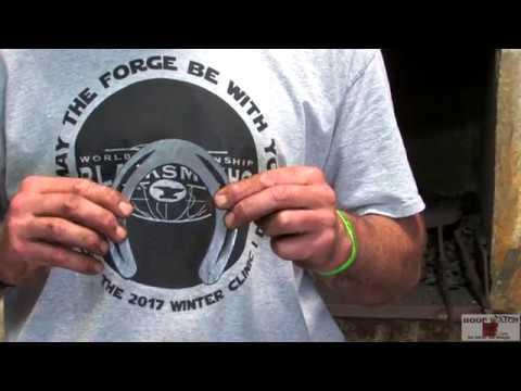 World Championship Blacksmiths Craig Trnka, CJF -  Hind Toe Cap