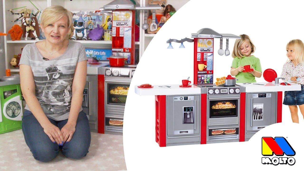 Kuchnie Dla Dzieci Molto Od Gonzo Toys Youtube