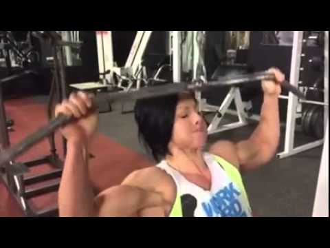 Dana Linn Bailey 2 weeks out from Arnold Classic 2015