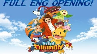 Digimon Data Squad Full English Opening ''Unleash Your Soul!'' /w Lyrics (Extended/Remix)