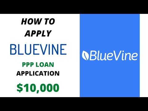 ($10,000) BlueVine PPP Loan Application | Easy Way To Apply