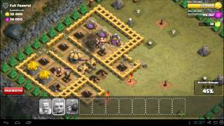 Clash of Clans Full Frontal Strategy Guide - Town Hall 5 - 3 Stars