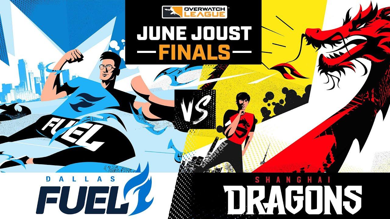 Grand Finals | @Shanghai Dragons vs @Dallas Fuel | June Joust Tournament | Day 3