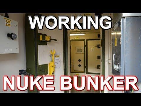 WORKING NUKE BUNKER - Brede Southern Water Bunker
