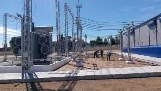 Ввод в эксплуатацию подстанции 110/10 кВ «Гелиос» (проект строительства - РУП
