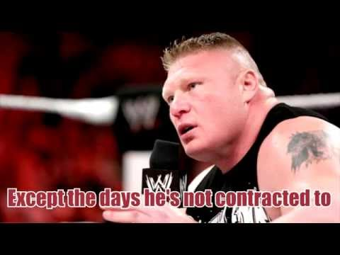 Brock Lesnar Theme WITH LYRICS (Full Version)