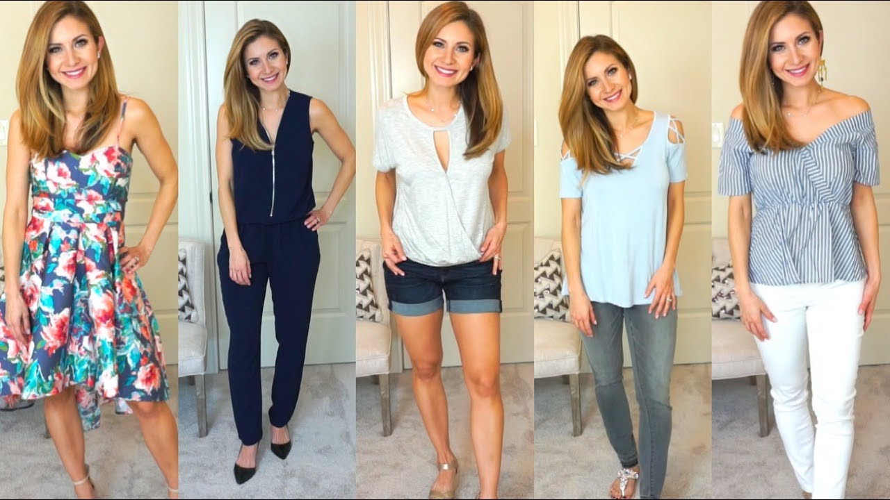 [VIDEO] - Spring/Summer Outfits & Try On | Venus Clothing | Lisa J Makeup 8