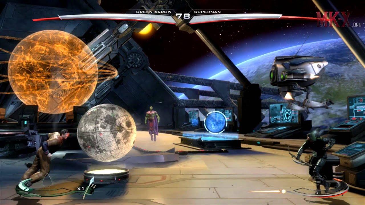 injustice arrow skin vs lockdown superman skin 1080p