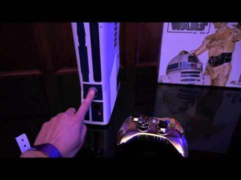 Star Wars Xbox 360 Makes The R2D2 Sound