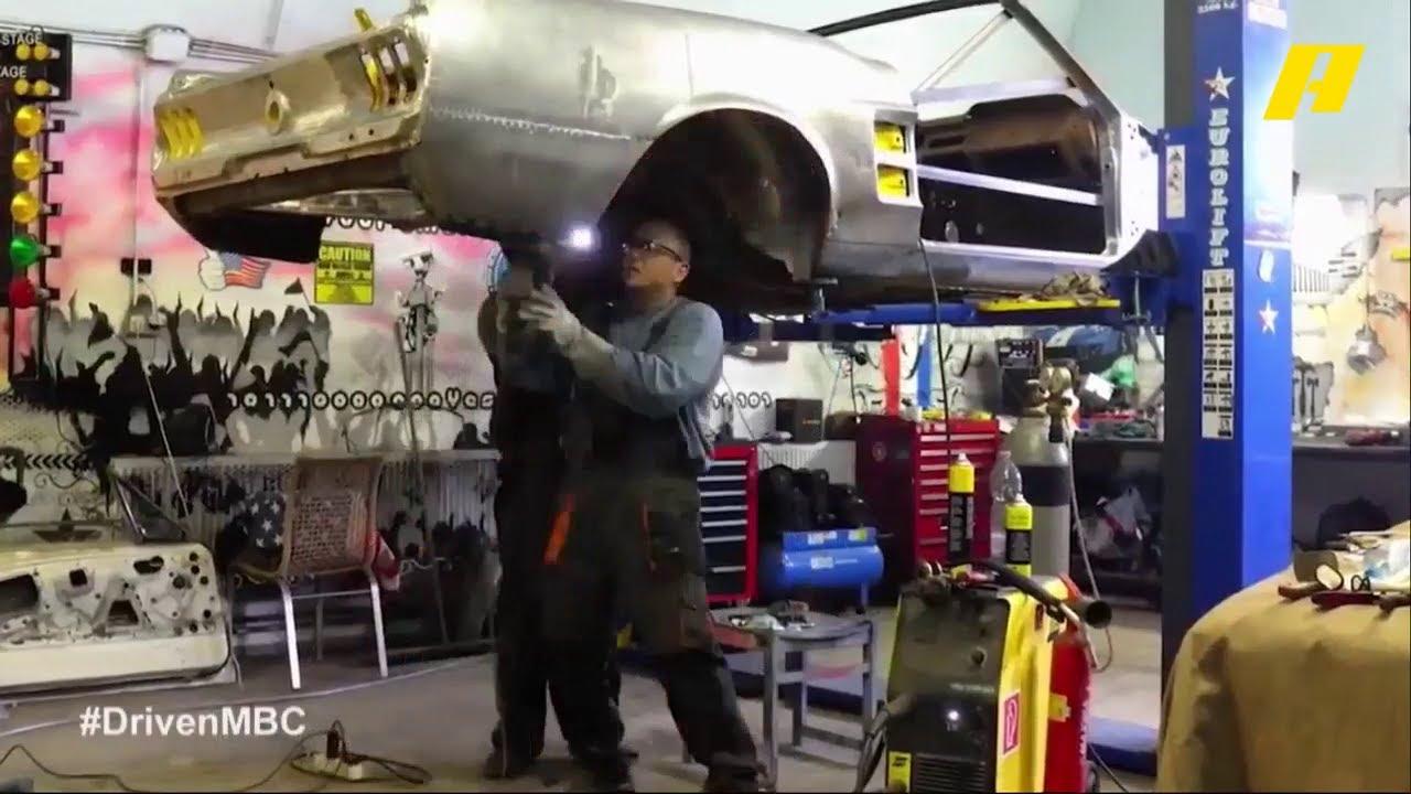شاهد كيف يتم إعادة بناء السيارات الكلاسيكية في دريفن