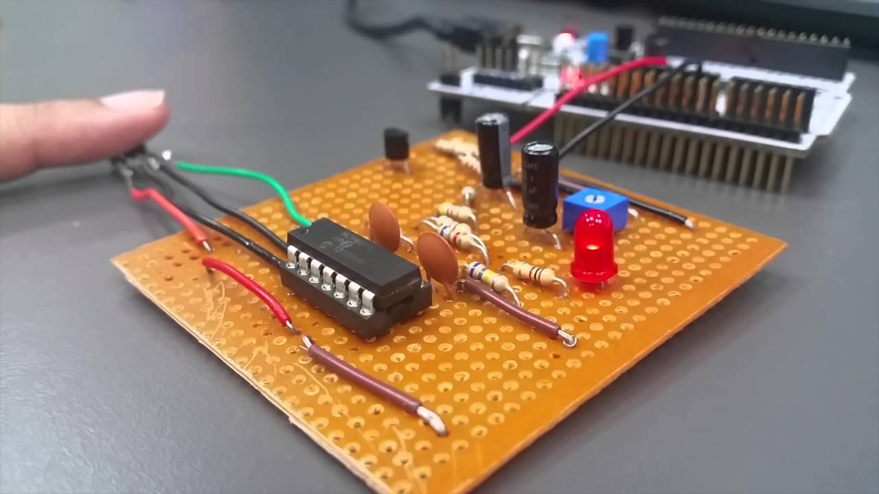 Turn your body signal to sound and light via STM32 Nucleo Board