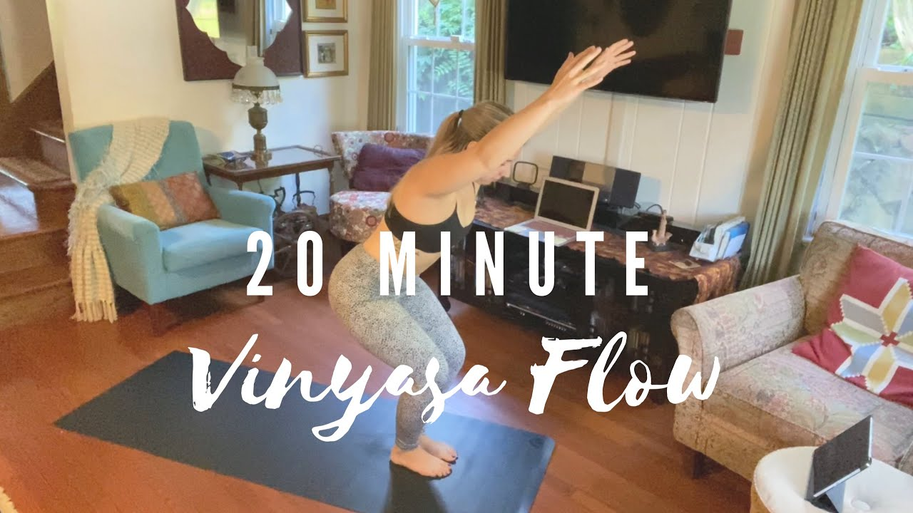 20 Minute Vinyasa Yoga Flow - Beginner